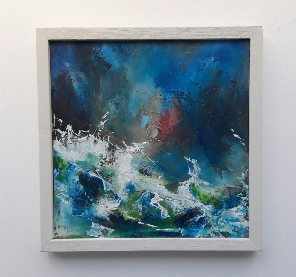 Turmoil-Michael-Hemming-Oil-Painting-Dorset-
