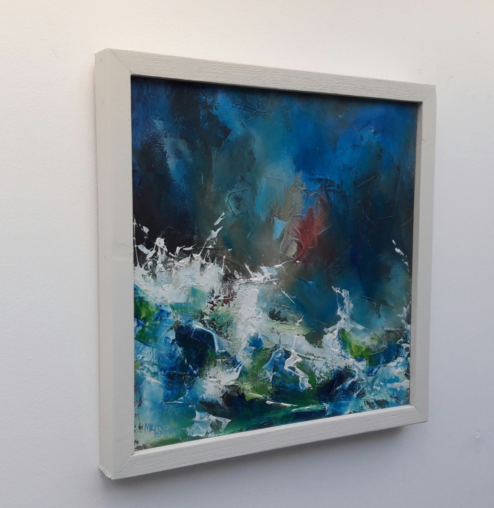 Turmoil-Michael-Hemming-Oil-Painting-Dorset-L