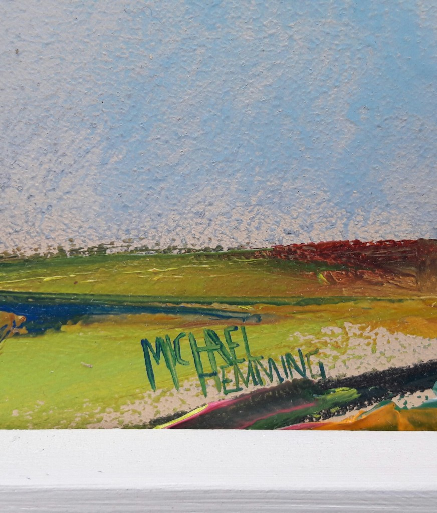 Michael Hemming Cirrus Accumulate framed painting
