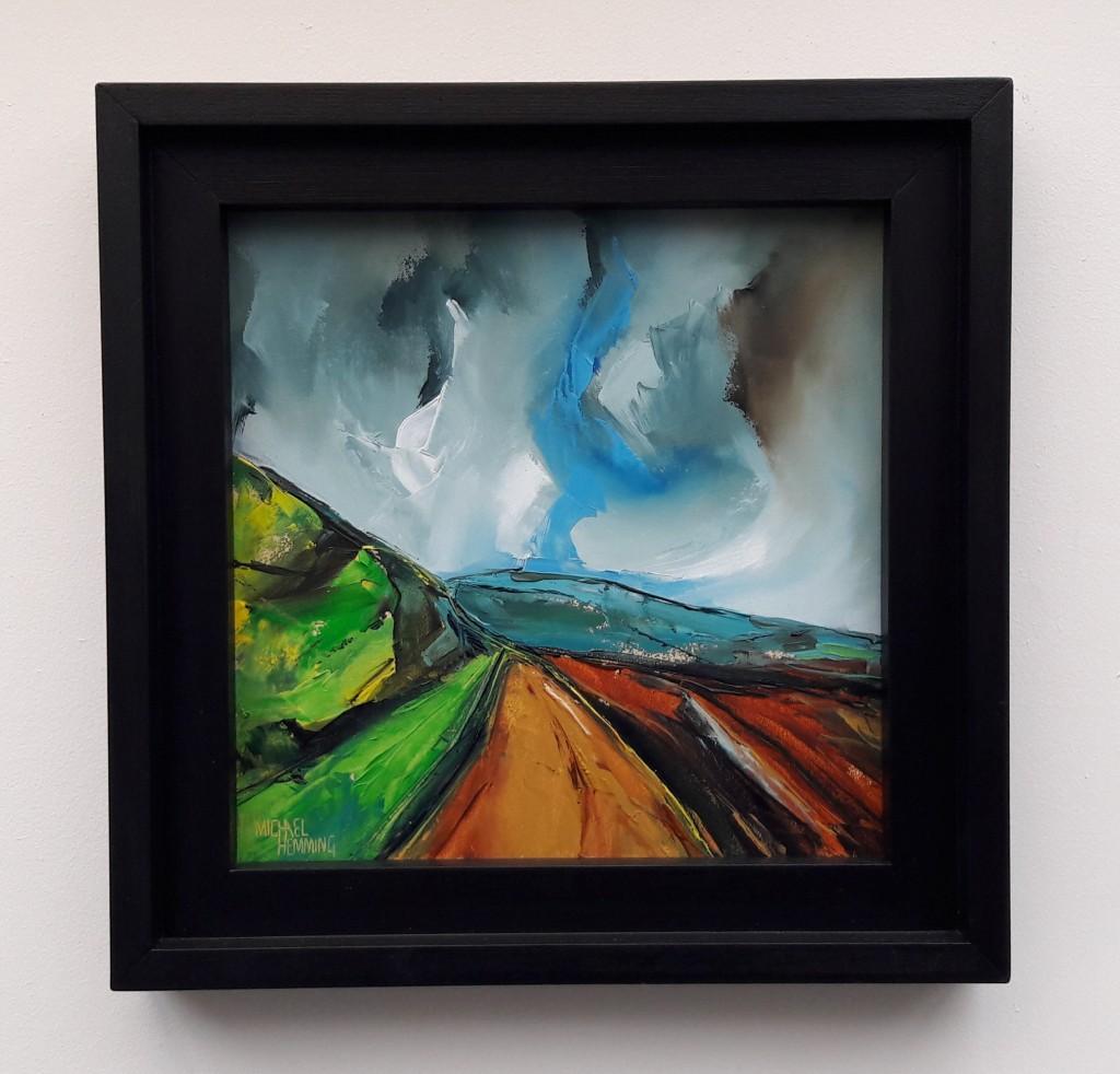 Michael-Hemming-Artist-Round-The-Corner-From-Corfe