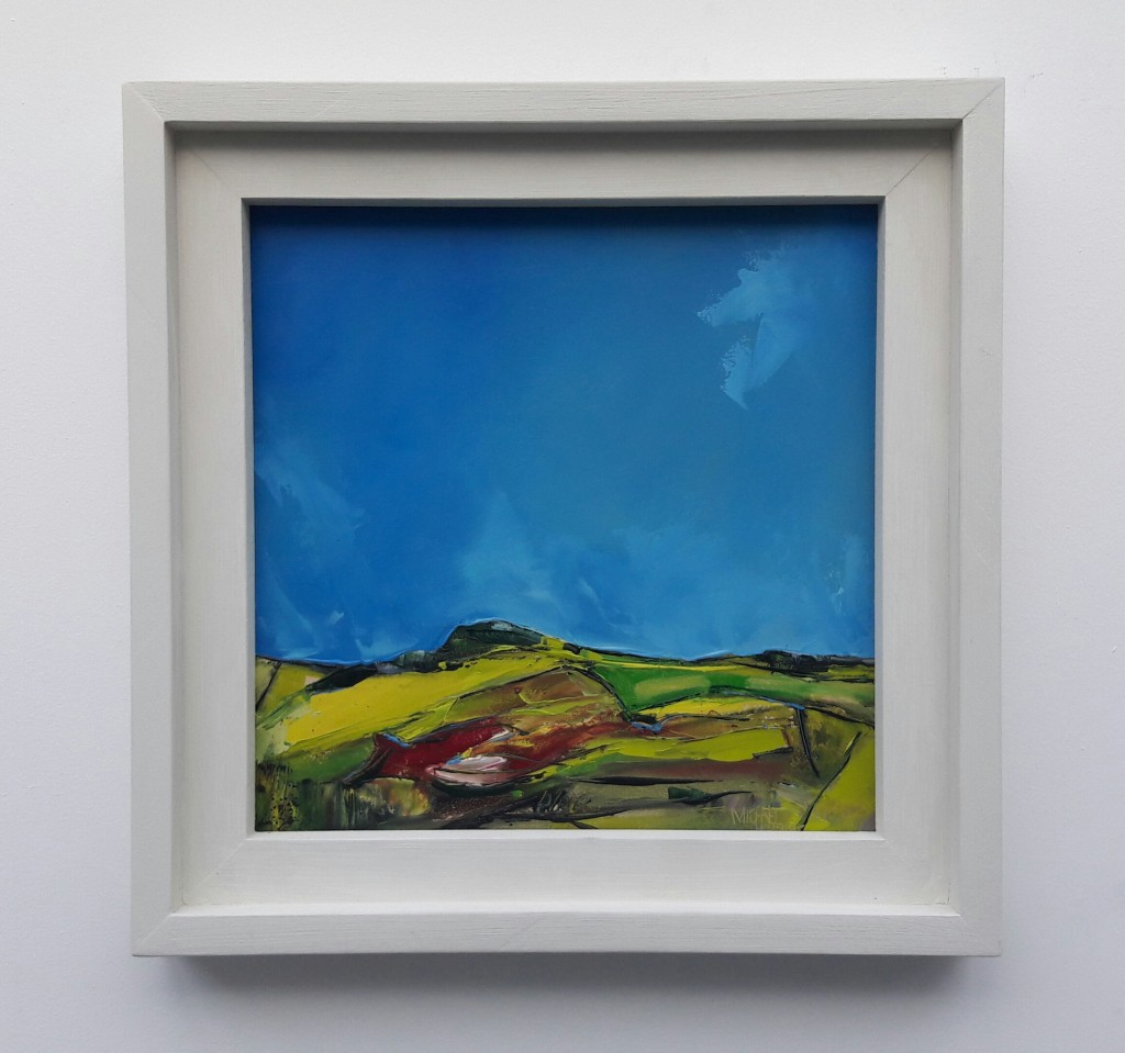 Michael Hemming Blue Skies Over Martin Down Oil