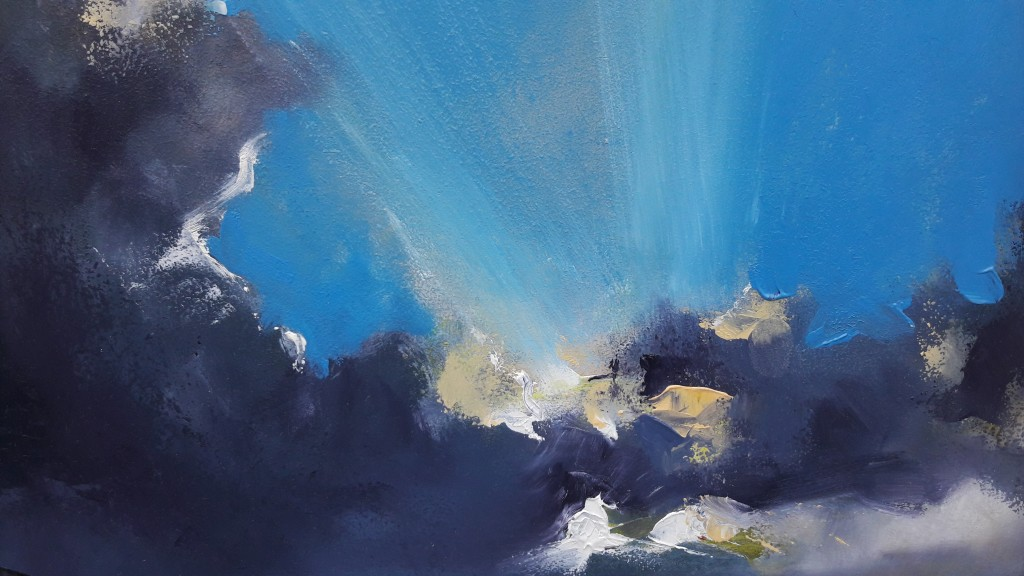 Michael Hemming Cumulus Over Southbourne Detail