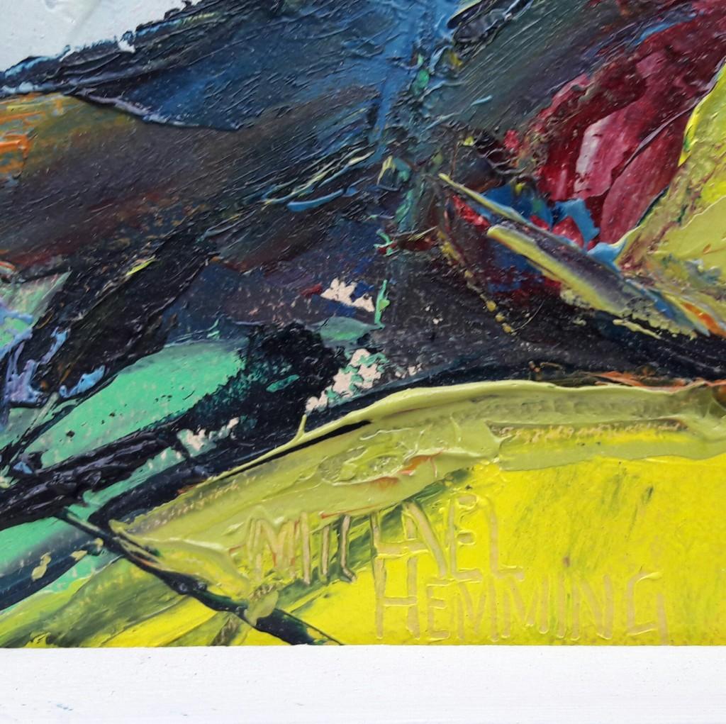 Near-Abbotsbury-Michael-Hemming-Oil-Painting-D