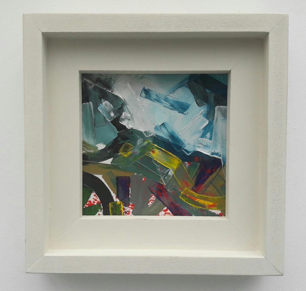 Distant-Hill-Michael-Hemming-Oil-Painting-Dorset-