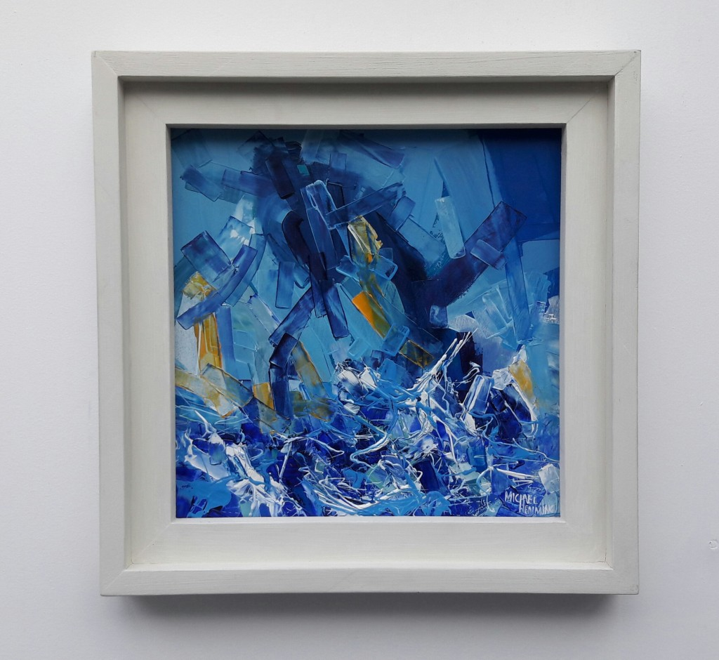 Riptide-Michael-Hemming-Oil-Painting-Dorset-Art-