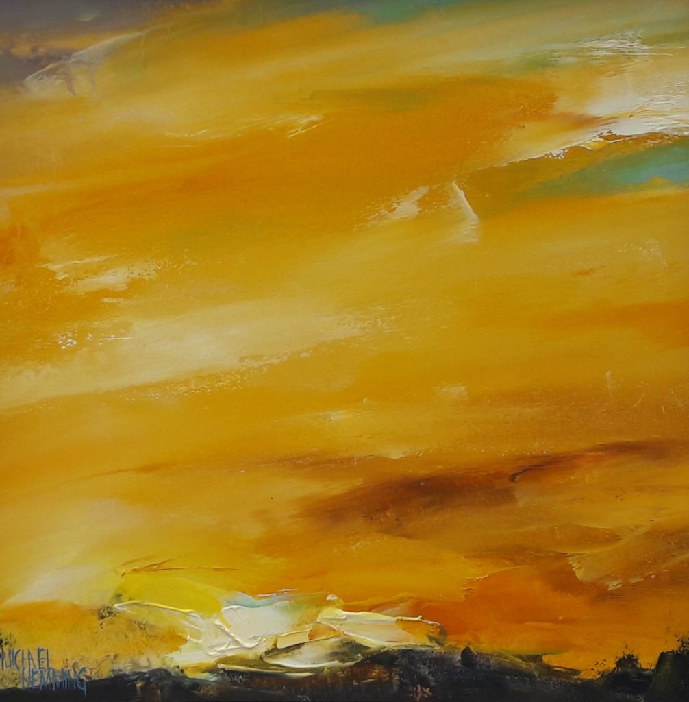 Sky-Blaze-Michael-Hemming-Artist-Oil-Painting-Det
