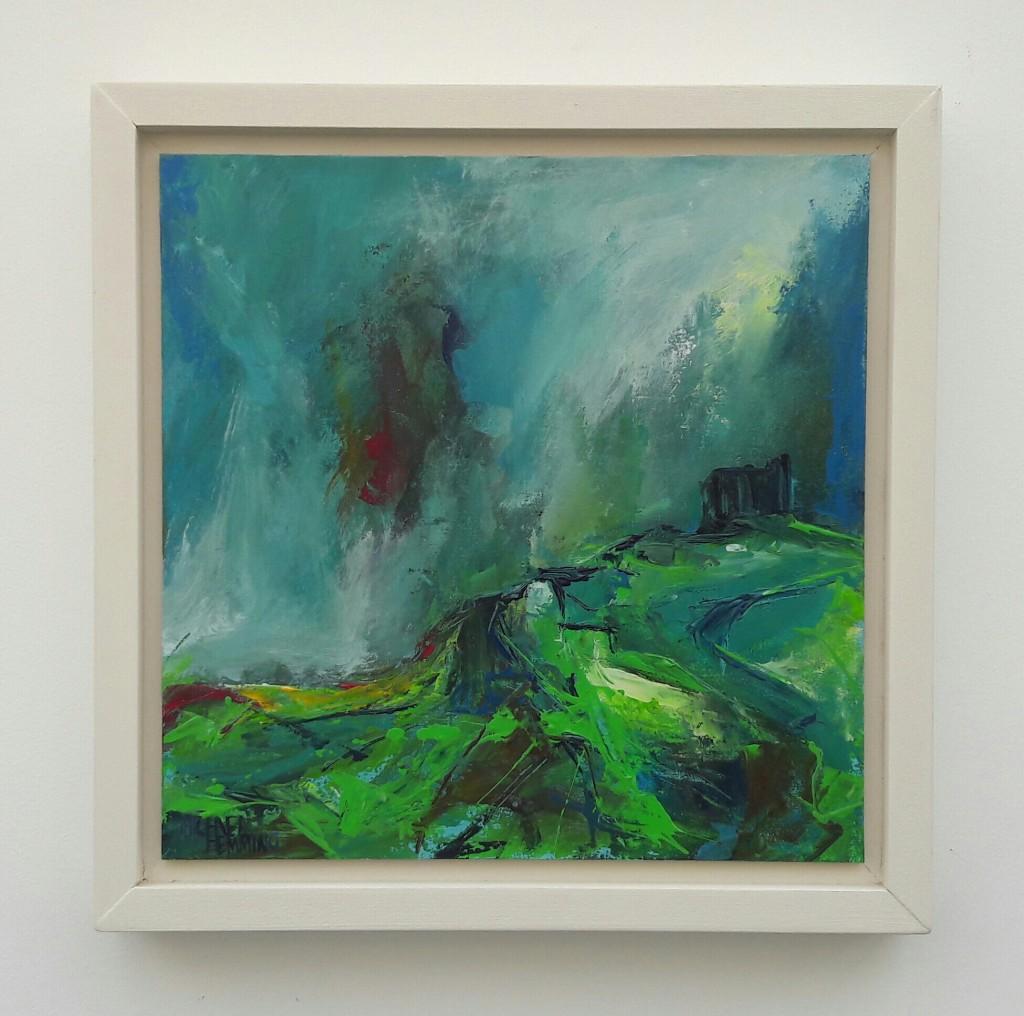 The-Chapel-Michael-Hemming-Artist-Oil-Painting-