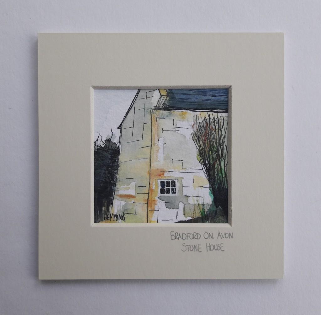 Bradford-On-Avon-Stone-House-Michael-Hemming-Art