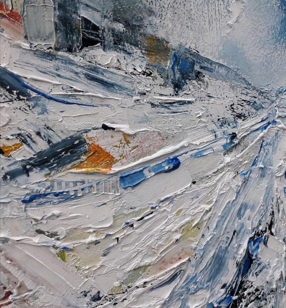 Churchyard-Snowstorm-Michael-Hemming-Oil-D