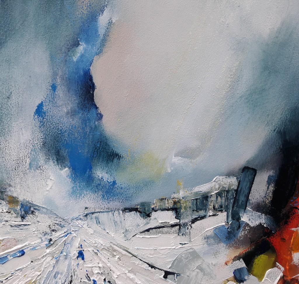 Churchyard-Snowstorm-Michael-Hemming-Oil-G