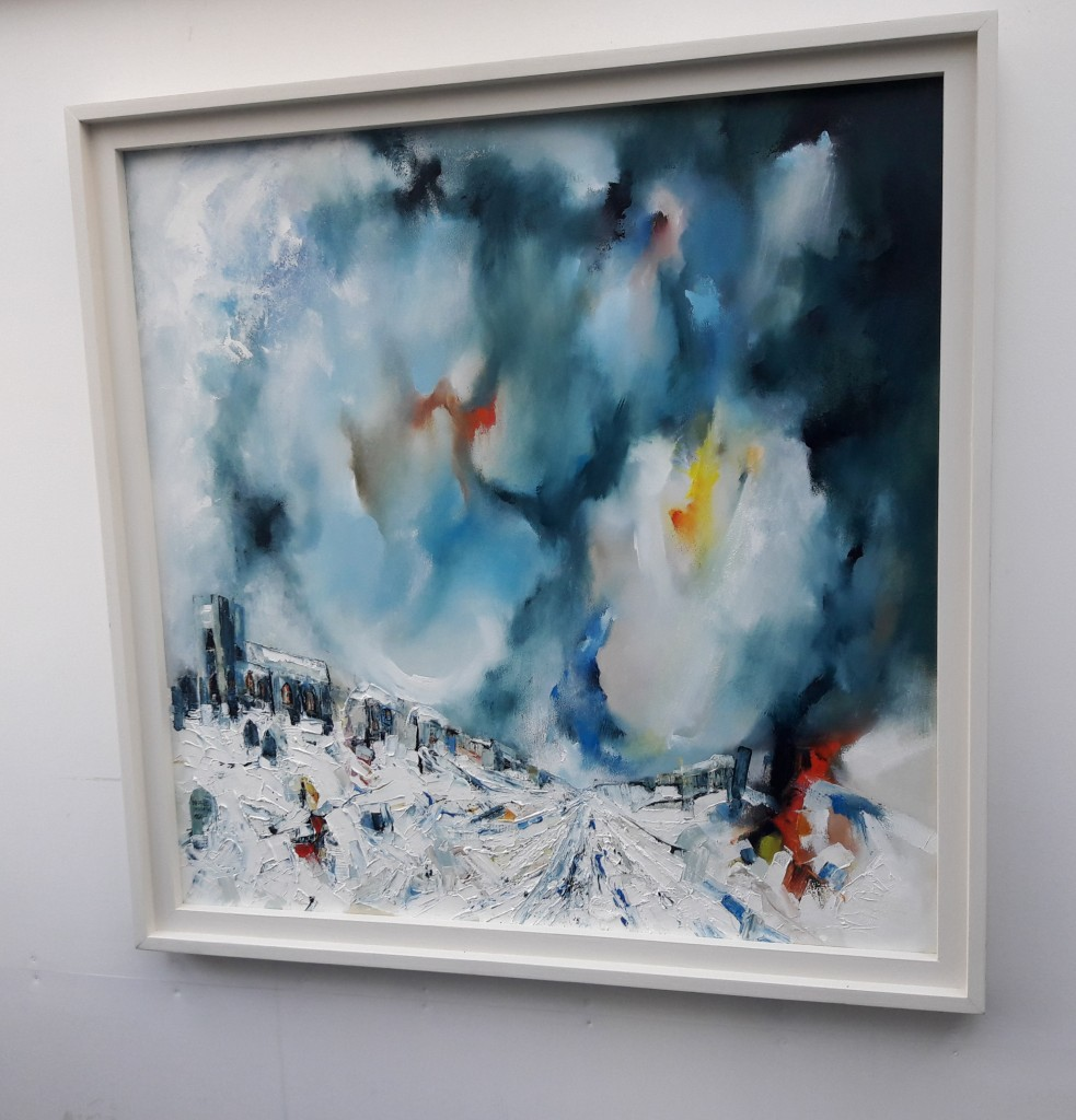 Churchyard-Snowstorm-Michael-Hemming-Oil-R