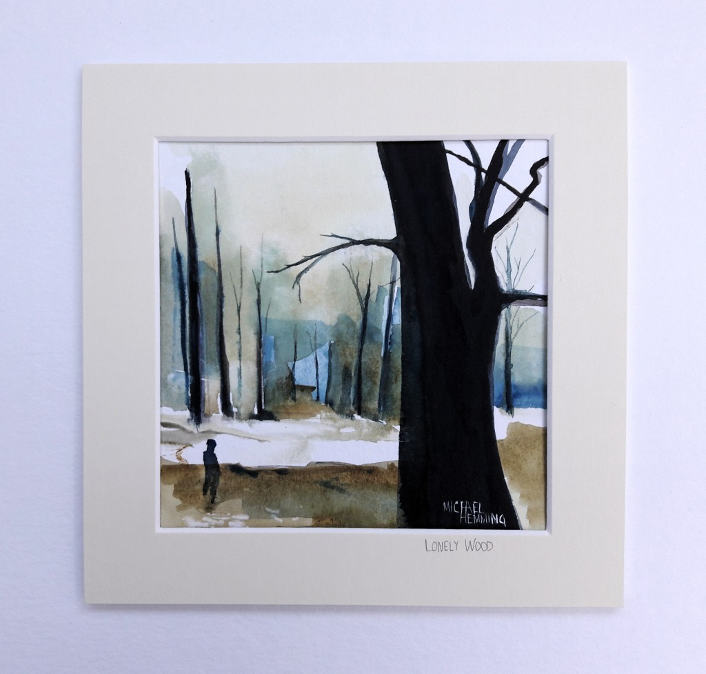 Lonely-Wood-Michael-Hemming-Scape-Artist-Painting
