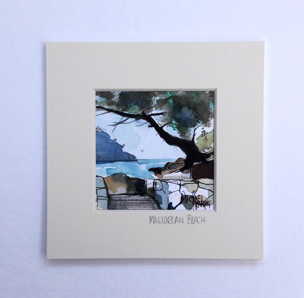 Mallorcan-Beach-Michael-Hemming-Scape-Artist-Art