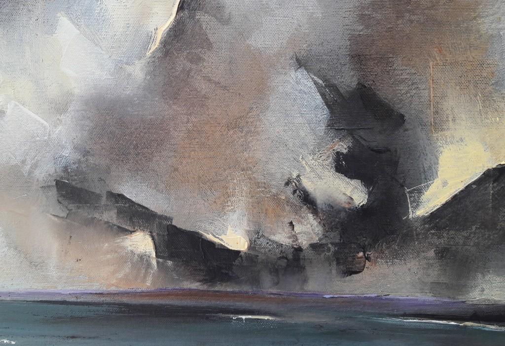 Michael-Hemming-Scape-Artist-Dorset-Studio-Paint