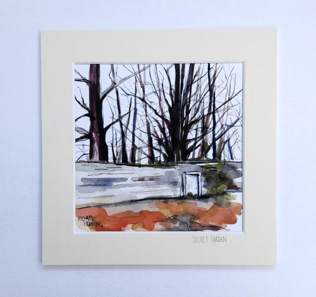 Secret-Garden-Michael-Hemming-Scape-Artist-Dorset
