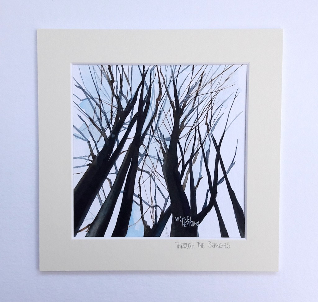 Through-The-Branches-Michael-Hemming-Dorset-Artist