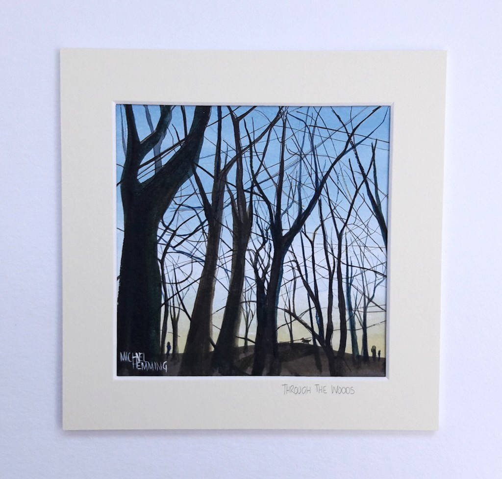 Through-The-Woods-Michael-Hemming-Scape-Artist