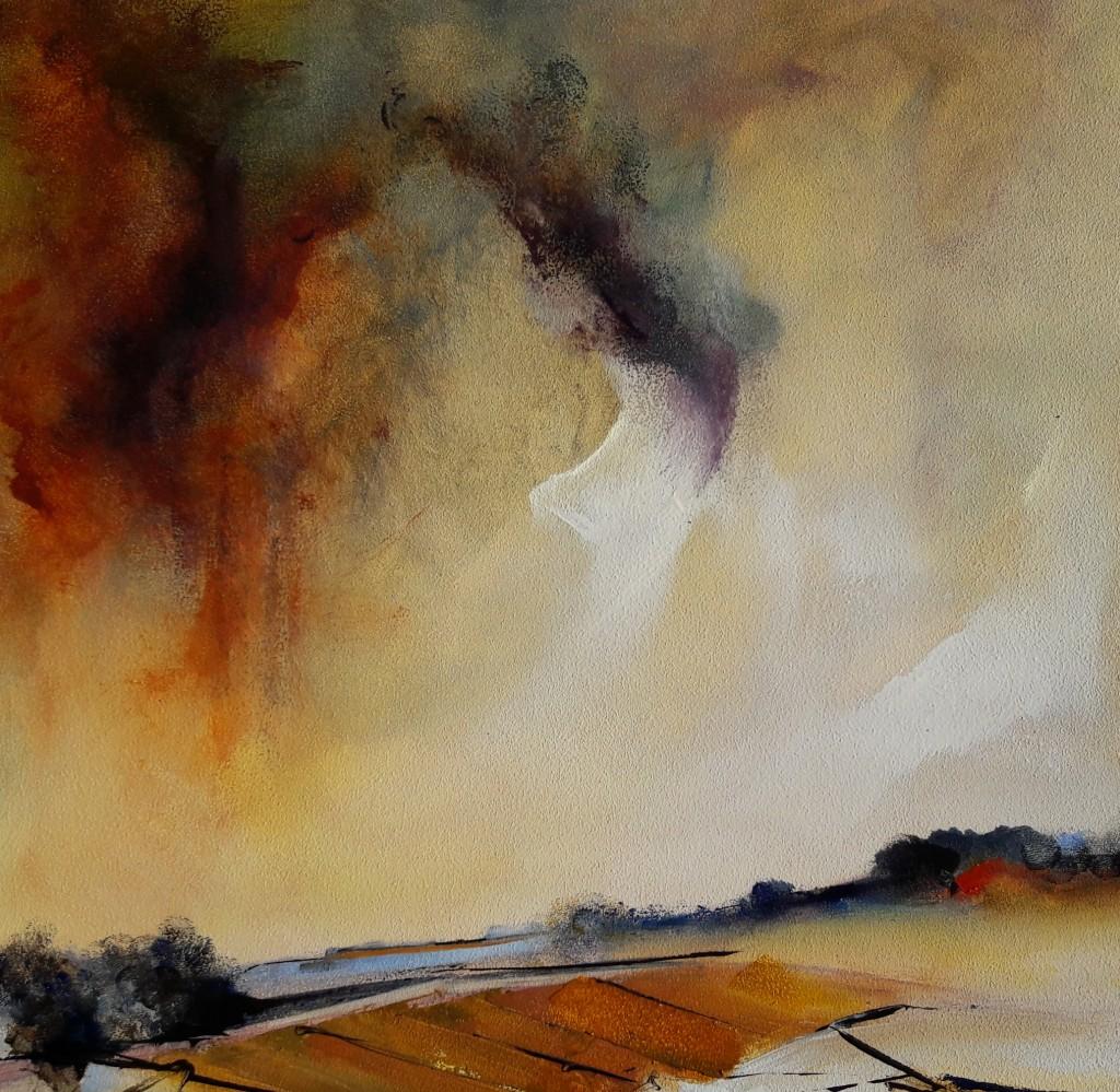 Michael-Hemming-Dorset-Scape-Artist-Blog-Sky