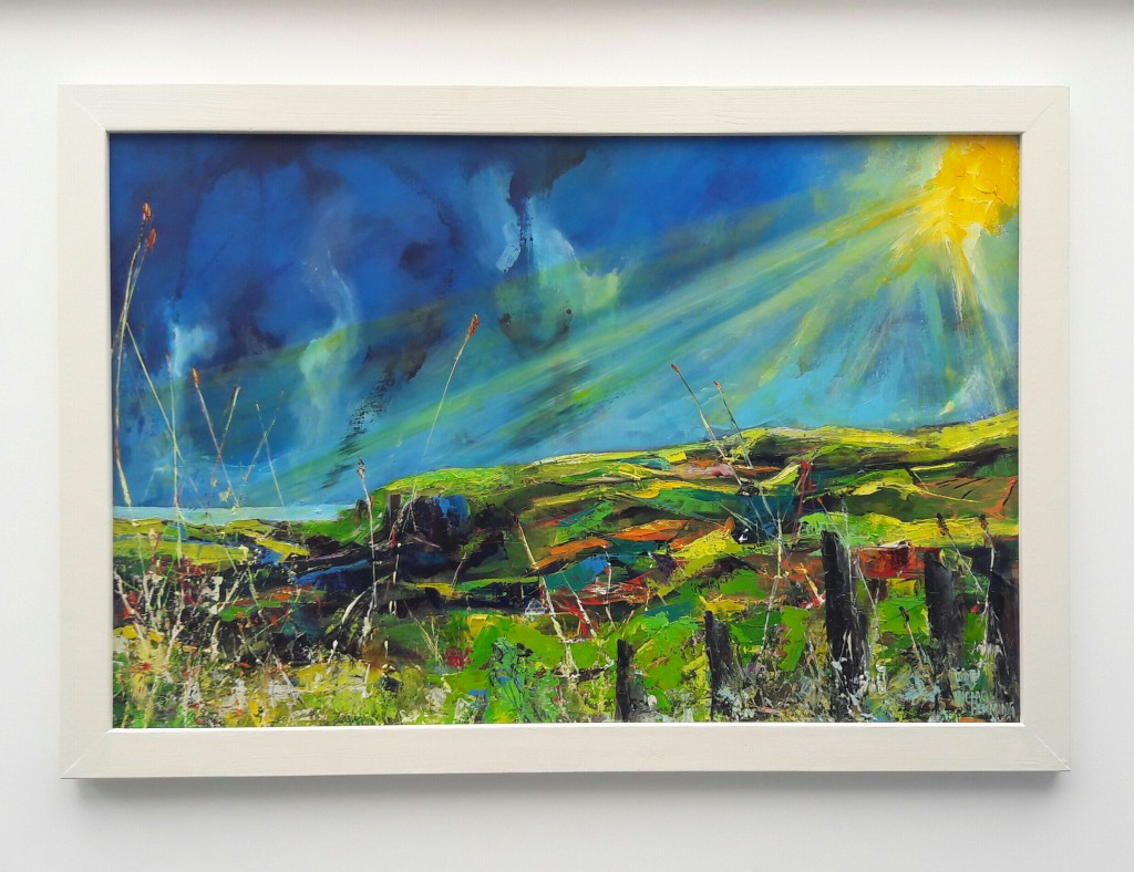 Michael-Hemming-Dorset-Scape-Artist-Purbeck-Hill