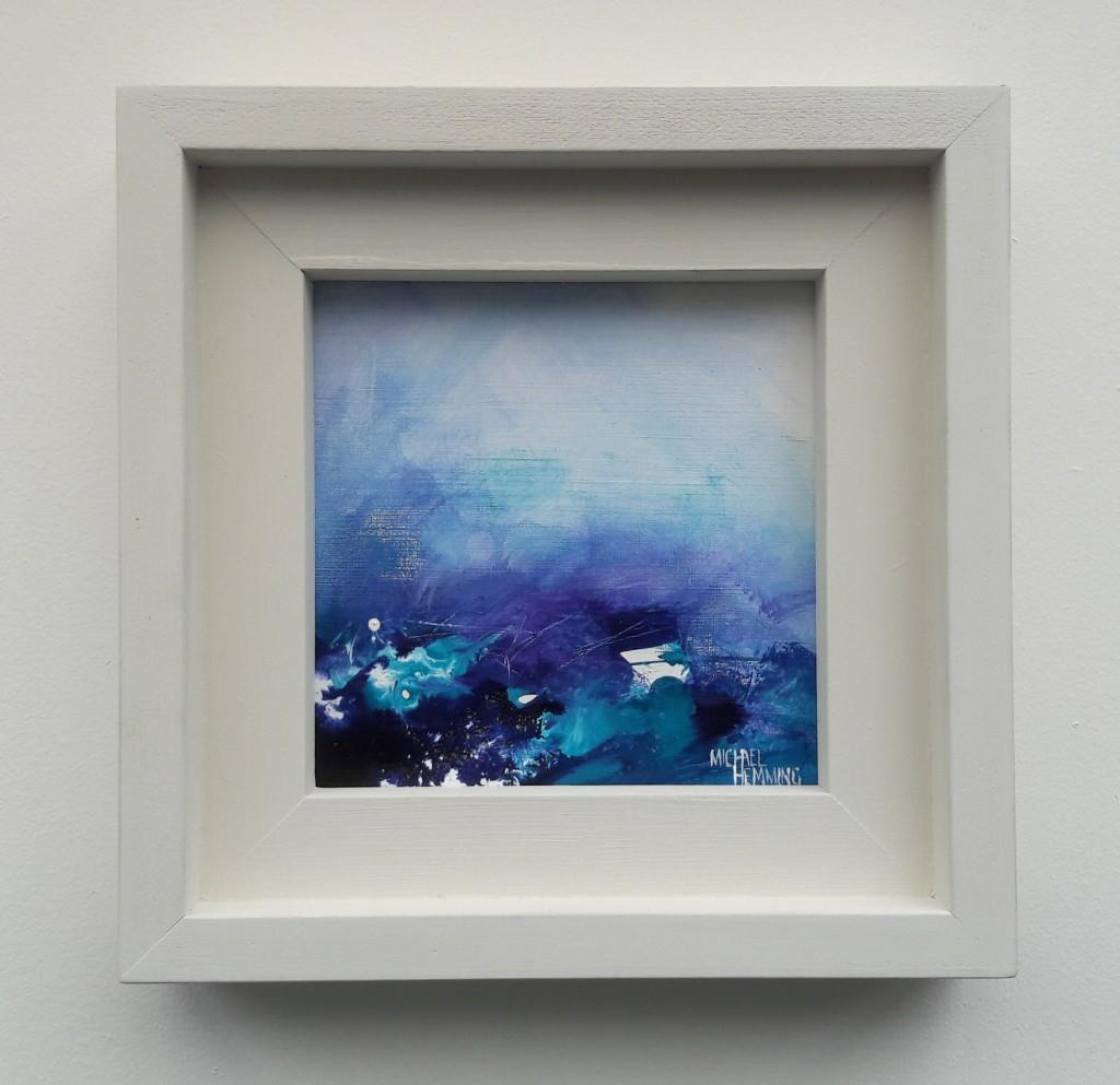 Michael-Hemming-Scape-Artist-Turquoise-Sea-Framed