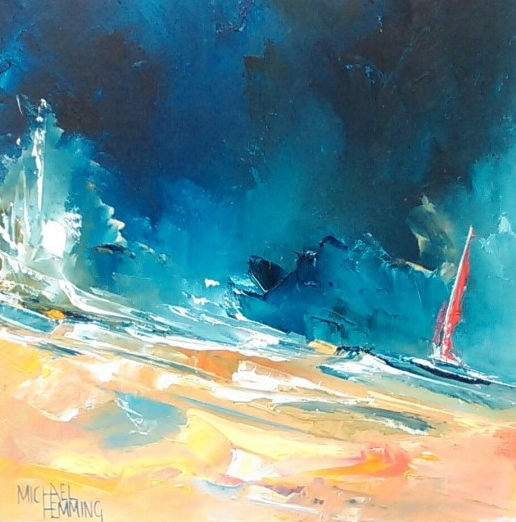 Landscape Canvas Print Oil Seascape Art Picture LAN17